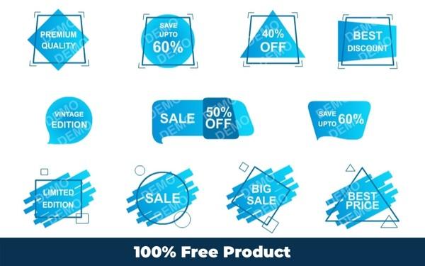 Sale Tag (Editable Graphics)