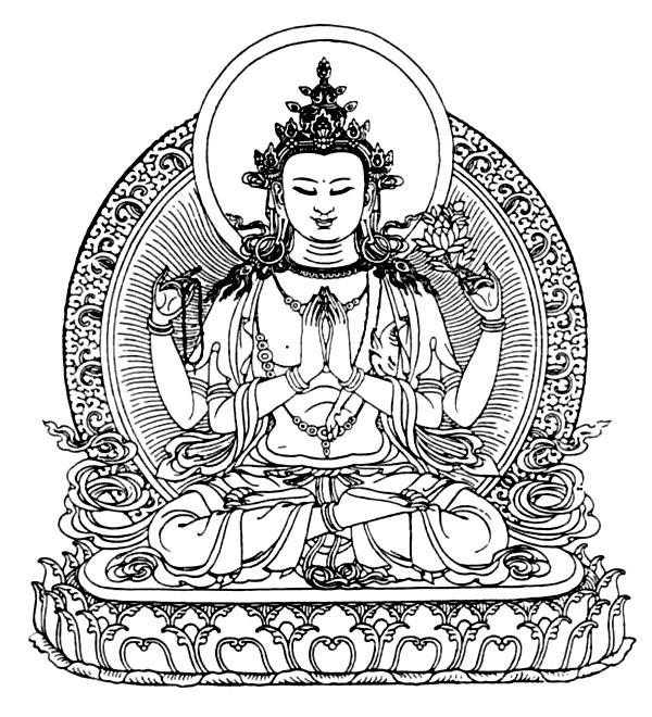 Chenrezig - concise daily practice