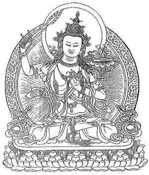 Manjushri - kurze tägliche Praxis