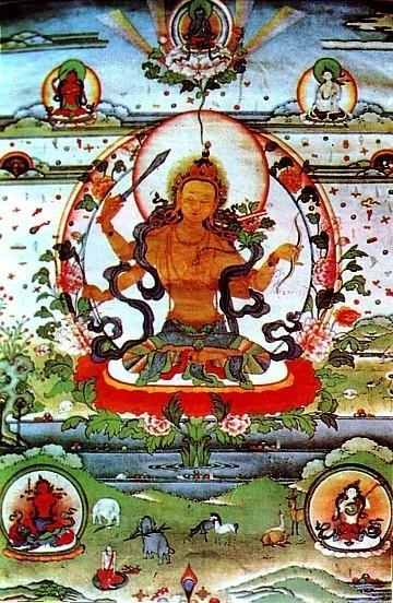 Manjushri Nama Samgiti - die Rezitation der Namen Manjushris