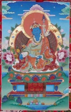 Orgyen Menla - Guru Rinpoche als Medizinbuddha