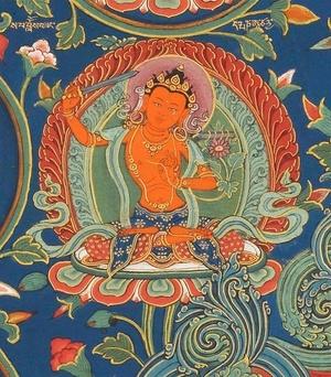 Manjushri - Das Vertreiben der Finsternis der Unwissenheit