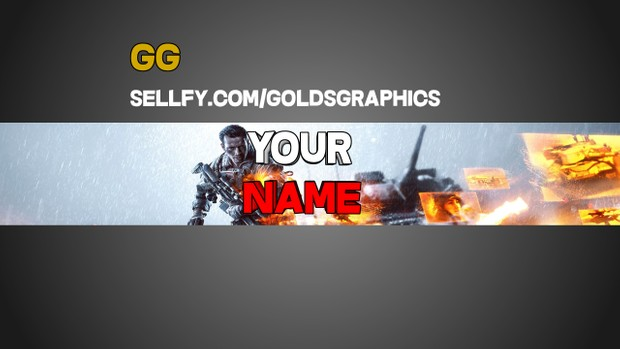 General YouTube Banner (Gaming)