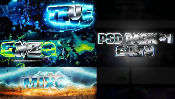 PSD PACK #1 Editable