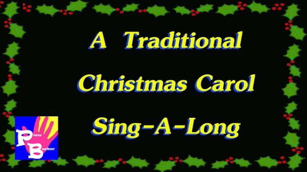 Songsheet PDF - Traditional Christmas Carol Singalong - Printable