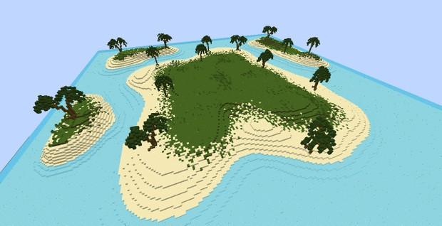Minecraft Island Map Whitedragon078
