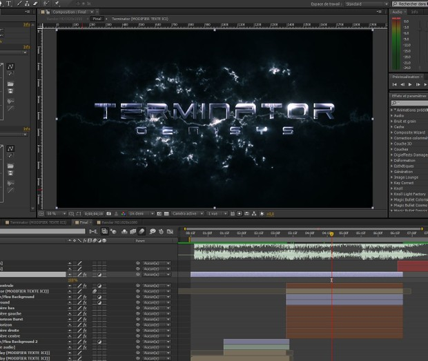 Terminator Genisys After Effect Template
