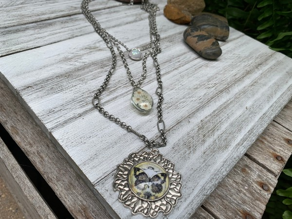 3-in-1 Stackable Silver Pendant Necklaces