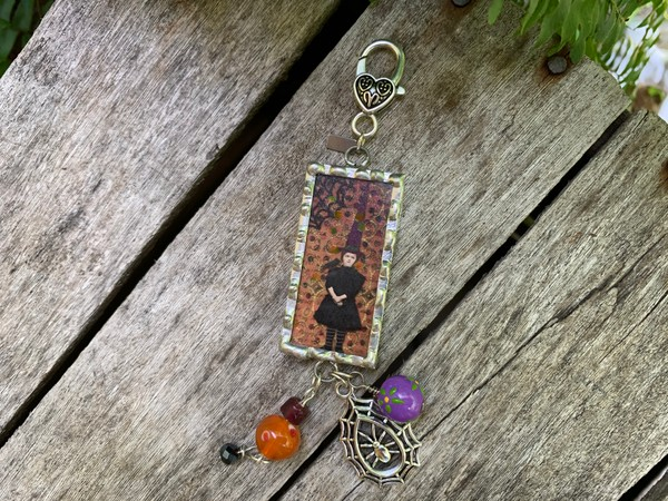 """""""I'm not a witch, I'm the witch"""" Soldered Pendant Necklace"""