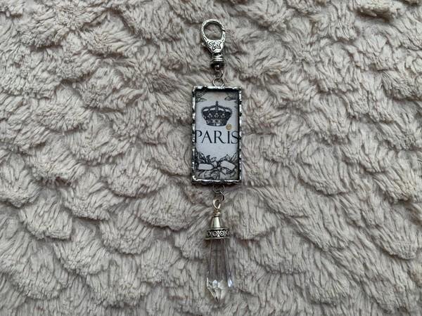 Paris/Lady Soldered Pendant Necklace