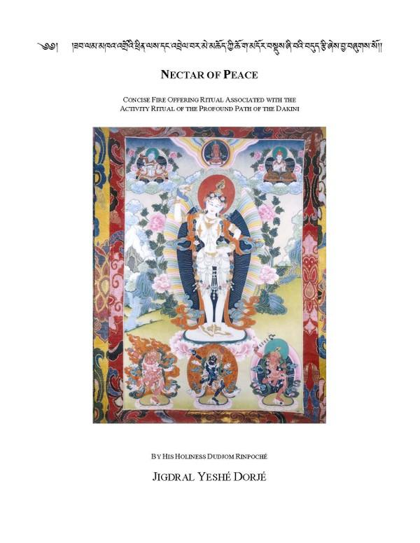 Khandro Tuk-Tik Fire Puja: Nectar of Peace