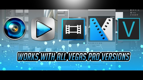 Sony Vegas Mega Transitions & Effects Pack By Pro Edit