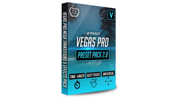Sony Vegas Mega Transitions & Effects Pack By Pro Edit - ProEdits