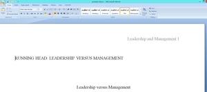 Unit VII Leadership Training Program