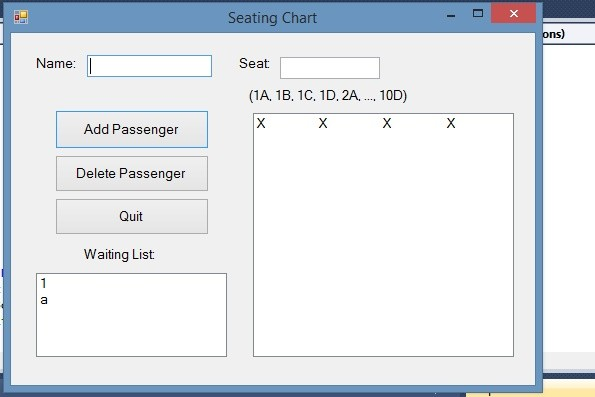 AirlineReservation with waitingList VB2010