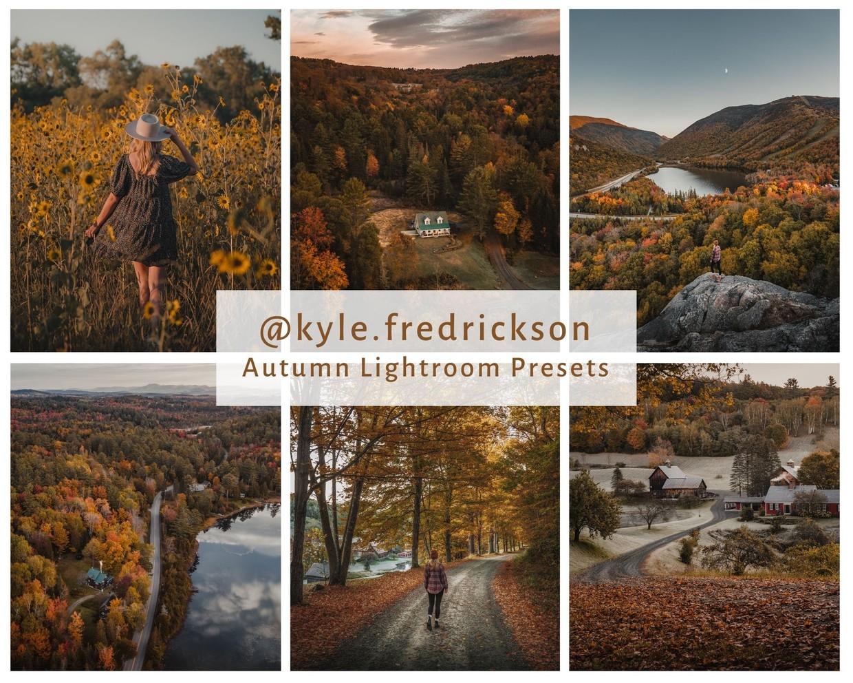 @kyle.fredrickson Autumn Lightroom Presets