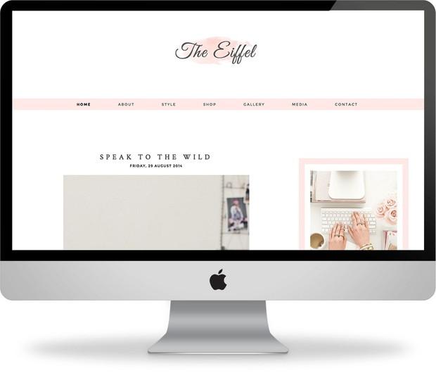 The Eiffel - Premade Blogger Template