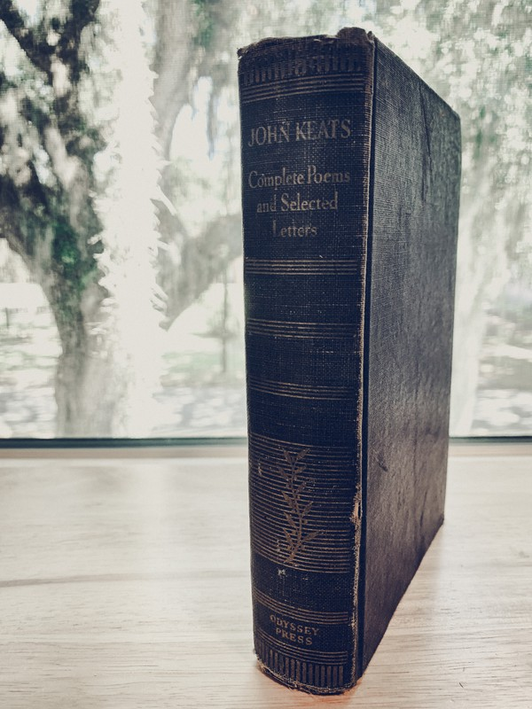 [Antique c. 1935] John Keats: Complete Poems and Selected Letters