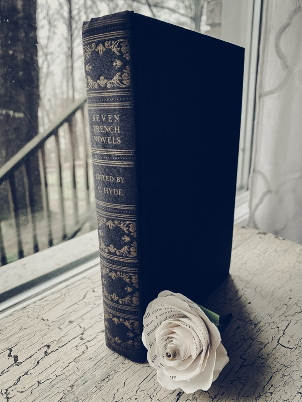 Seven French Novels Edited by C. Hyde [Antique Book]