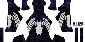 Spider-man Symbiote V2 (Galaxy)