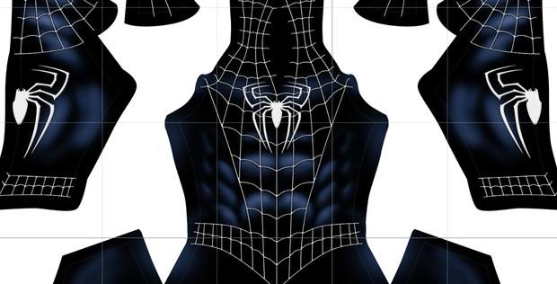 Raimi's Spiderman 3 Black suit V2