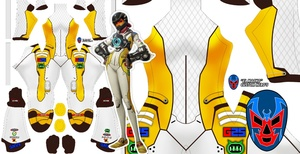 Tracer Overwatch (T. Racer Skin)