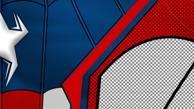 Captain Spider-man Homecoming V2 (with shading)