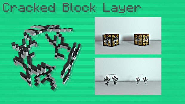 Minecraft Cracked Block Layer