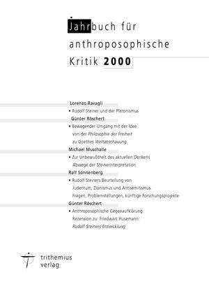 Jahrbuch für anthroposophische Kritik 2002