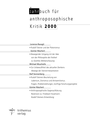 Jahrbuch für anthroposophische Kritik 2000