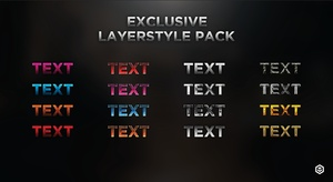 Exclusive Layerstyle Pack