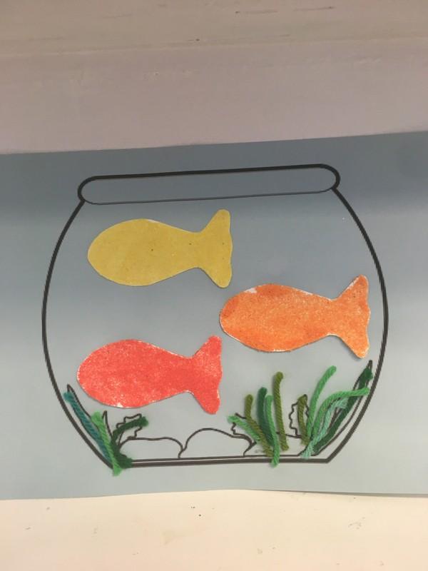 Goldfish (Local Pickup) Matisse-Inspired
