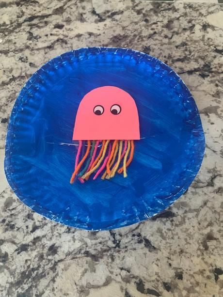 Jellyfish Puppet (Shipped)