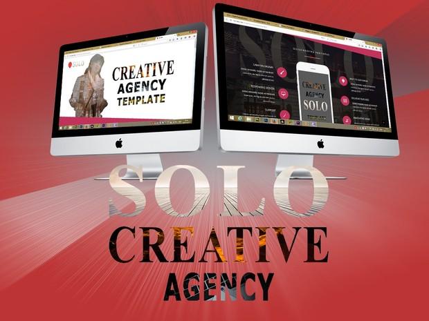 Solo-Adobe Muse Template