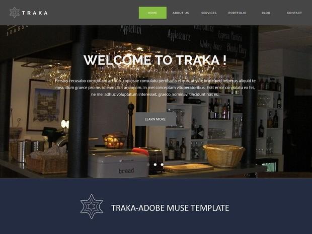 Traka-Adobe Muse Template