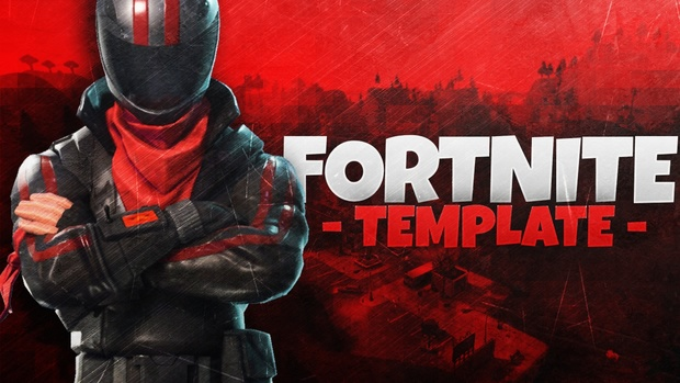 AWESOME Fortnite Gaming Banner Template!