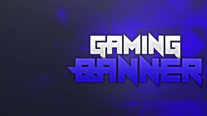 Spike Gaming Banner Template