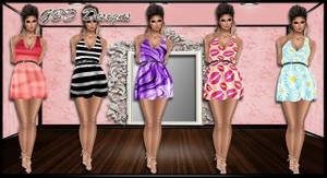 VIP Feb Simple Dresses Collection RESELL RIGHTS!!