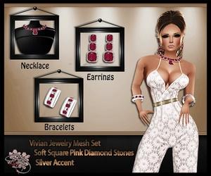 Vivian Jewelry Mesh Set