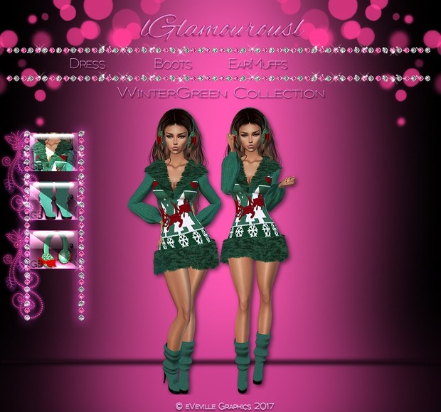 Winter Green Collection~RESELL RIGHTS~