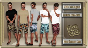 Men's Summer Love Collection CATALOG ONLY!!