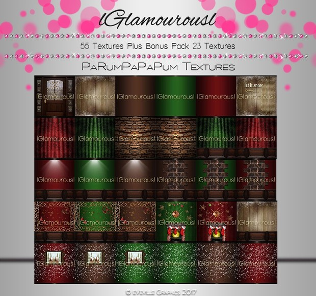 PaRumPaPaPum Room Texture Collection~RESELL RIGHTS~