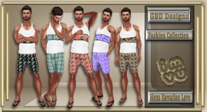Men's Hawaiian Love Collection RESELL RIGHTS