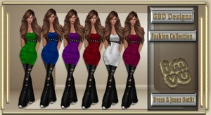 Dress & Jeans Outfit CATALOG ONLY!!