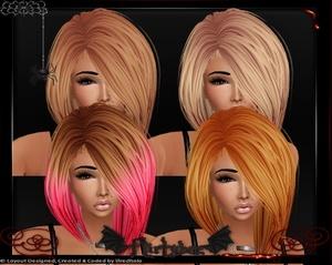 California Cali Color Hair Textures