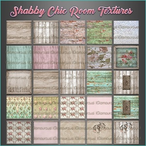 Shabby Chic Room Texture Pack ~CATALOG ONLY~