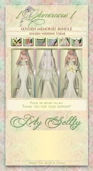 Golden Memories Wedding Collection~CATALOG ONLY~