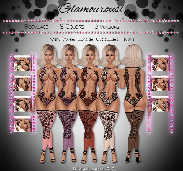 Vintage Lace Collection ~CATALOG ONLY~