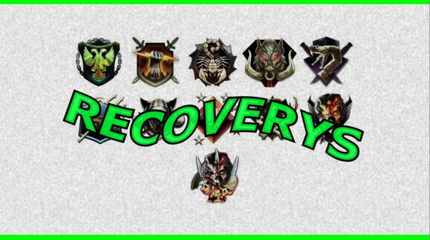 RECOVERYS WITH EXTRA STUFF