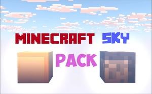 Minecraft Cinema 4D Sky Pack by MrDJMinecraft